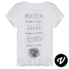 camiseta when i see you