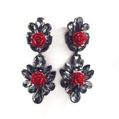 lagrima-princess-flores-negro