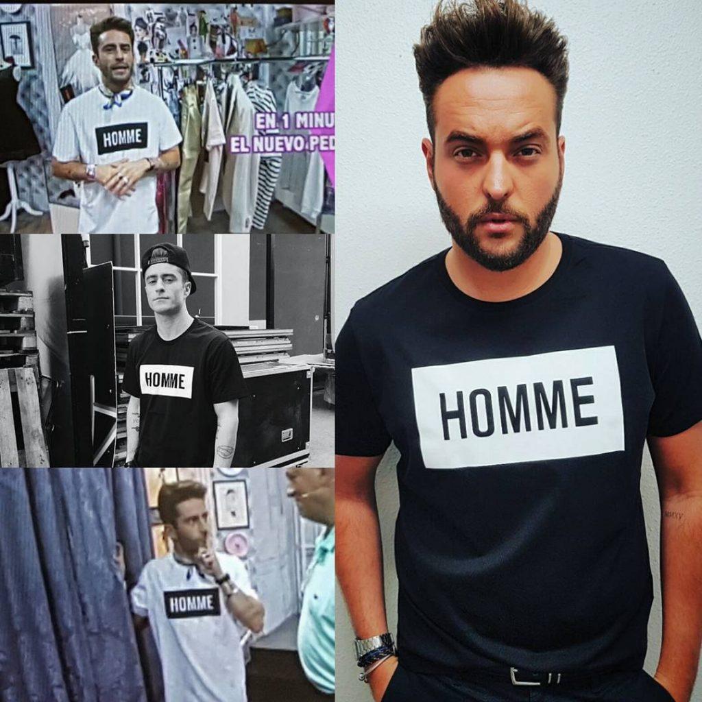 camiseta para hombres