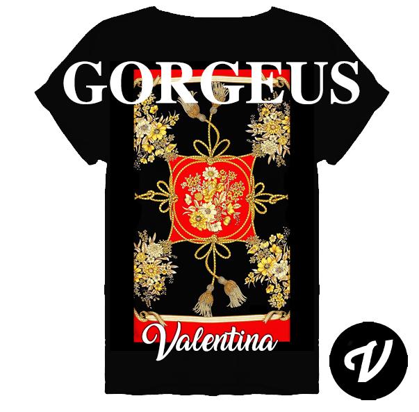 ce97c4f3 Camisetas Gorgeus Valentina